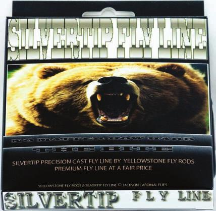 FLY & SINKTIP LINES BOXED BAGGED SILVERTIP FLY LINES WEIGHT FORWARD HI-FLOAT CAT.