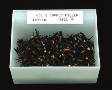 00 each PLASTIC DISPLAY BOX Available for 18 dozen flies.