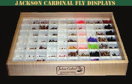 lids. Comes with UPC barcode label and holds 48 flies min.