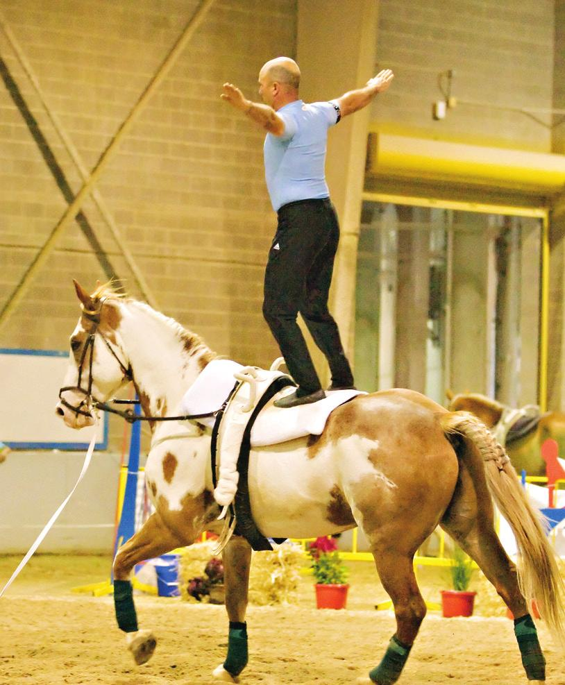 Vaulting is a young person s sport. Lance Brown reports. Just do it! And don t worry about the kids; you re really just competing against yourself for better scores.