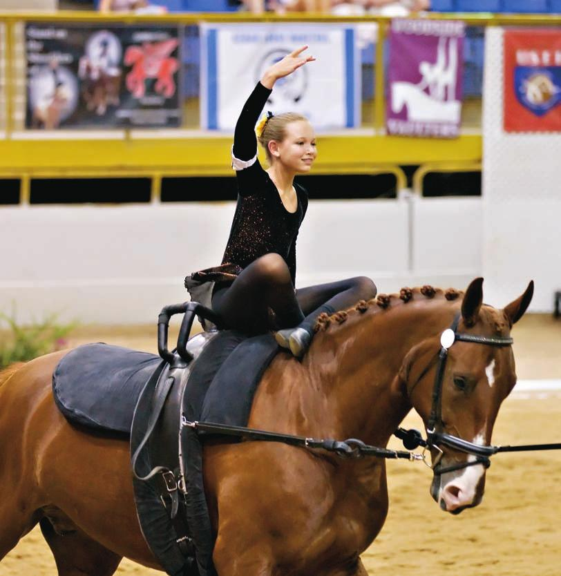 HORSESMARTS Forming a PART Vaulting at any level is about the partnership we vaulters and lungers share with our horse.