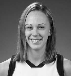 2007-08 Liberty University 2007-08 (Fr.): Made both of her free throws, grabbed a rebound and blocked a shot in her collegiate debut, helping Liberty defeat UNC Greensboro (11/13).