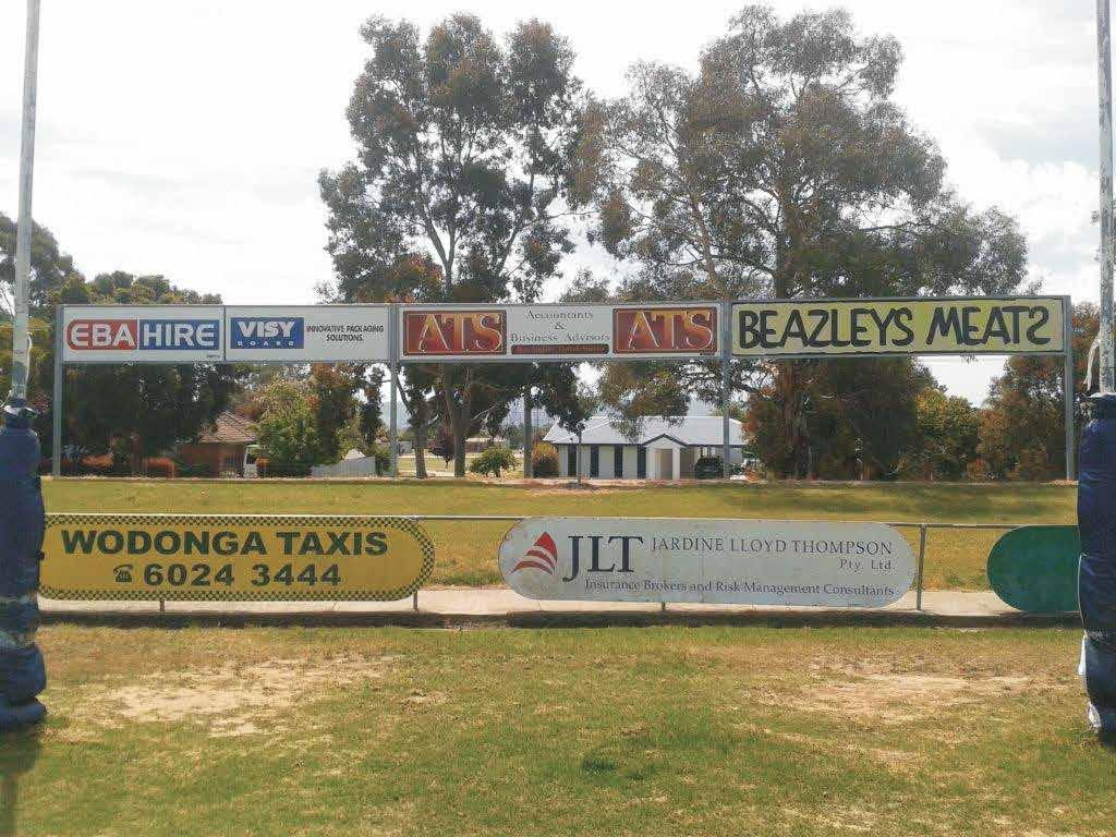 VIKING Sponsor - $3000 + GST Sign exposure on elevated structure ( Signage cost INCLUDED ) Logo on club Sponsor Board Acknowledgement on