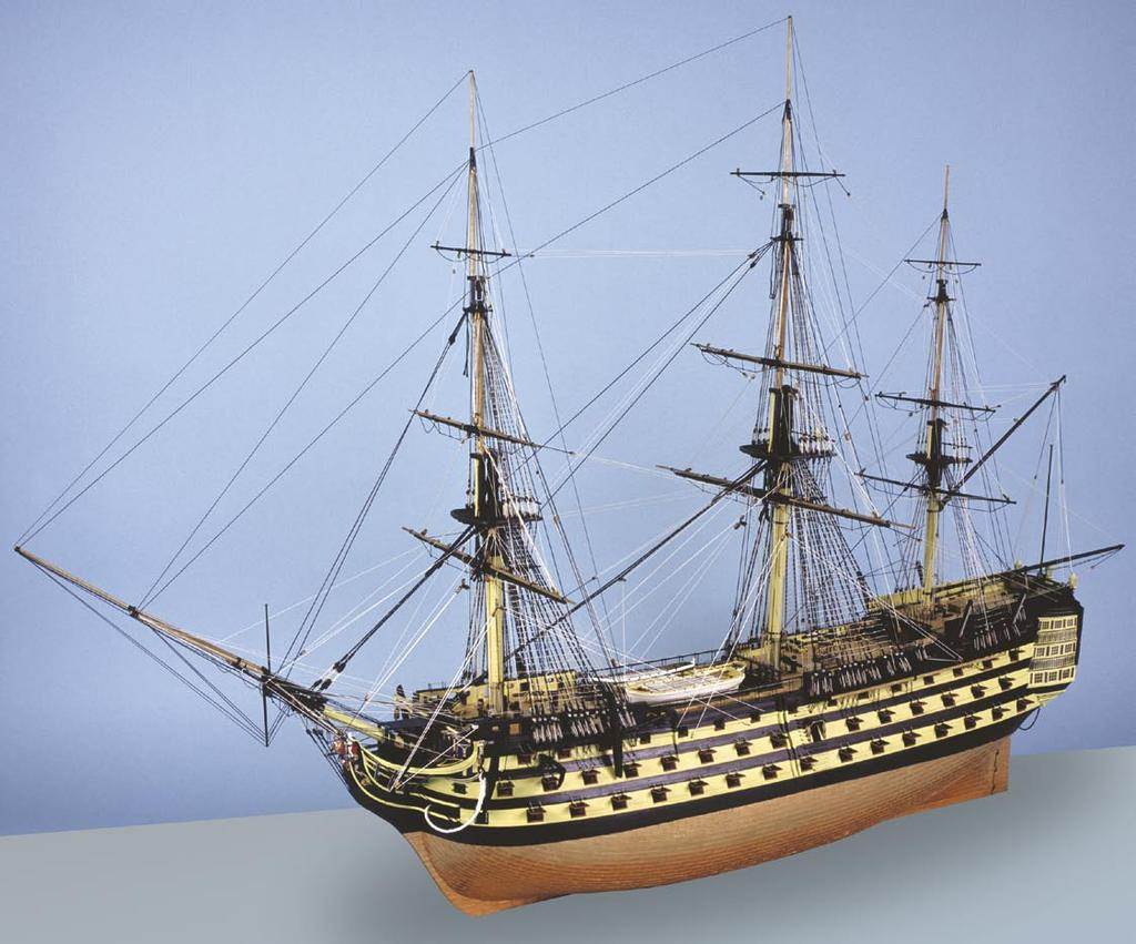 NELSONS NAVY ~ HMS VICTORY After more than two years of extensive research and development, using information and sources previously unavailable, this is the most historically accurate, highly