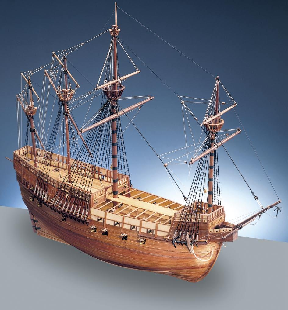 HERITAGE SERIES ~ THE MARY ROSE The Mary Rose kit has been designed with the full co-operation of the Mary Rose Trust, making the kit the only model based on the most up to date research and