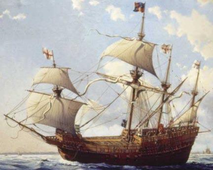 Faced with the ever present threat of the French Navy, as well as a strong, potentially hostile, Scottish fleet, Henry VIII embarked on a programme of naval building, including the Mary Rose and the