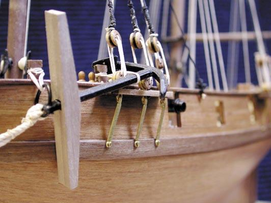Kit includes: Four 12 pdr carronades; Walnut CNC cut parts; Double plank on bulkhead