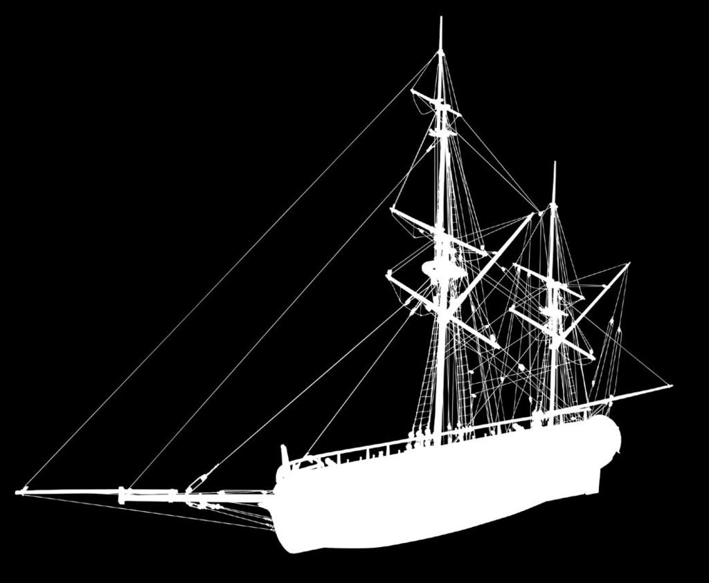 NELSONS NAVY ~ HM MORTAR VESSEL CONVULSION Convulsion is a ketch rigged mortar boat.