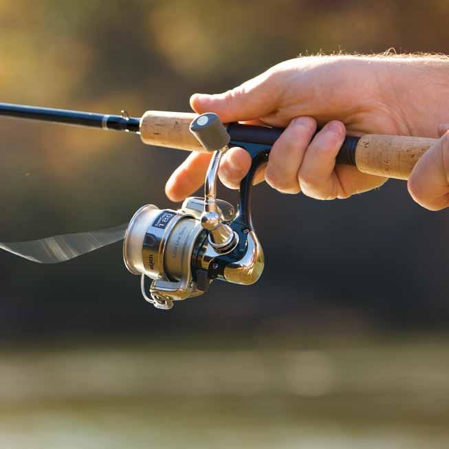 reel you ve ever fished before. It also packs plenty of muscle on the fight with an SDS drag system (where applicable) that starts fast and stays steady from hook-up til the fish is in your grasp.