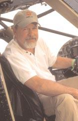Rodney Powers at Atlanta Air Salvage started the concept of the Black Stallion, Tim said during an interview at the 2003 Sun n Fun EAA Fly-In. It was his idea.
