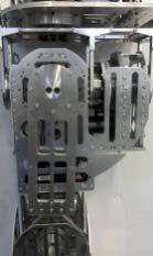 It is constructed from lightweight aluminium material, as such, the jointlink inertia is negligible.