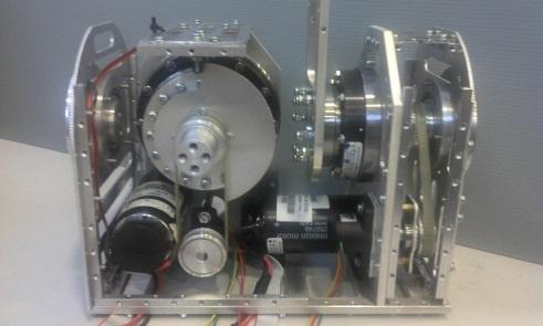 4 Absolute ground sensor Two tri-axis tilt sensors are fitted at the robot ankle joint to measure the ankle s pitch and the roll angles, as depicted in Figure 8.
