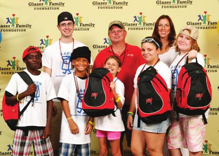 GLAZER FAMILY FOUNDATION The Glazer Family Foundation was established in 1999 to better the lives of children and families by establishing lasting, impactful programs throughout Florida communities.