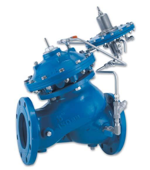 Level Control Valve with Altitude Pilot High level reservoirs & water towers Energy cost critical systems Systems with poor water quality Inherent refreshing Level sustaining at reservoir outlet The