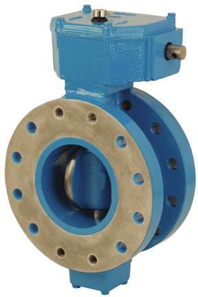 The Pratt Trito Butterfly Valve has a rubber seat located i the body that reduces performace problems related to corrosive buildup i valve body ad pipelie.