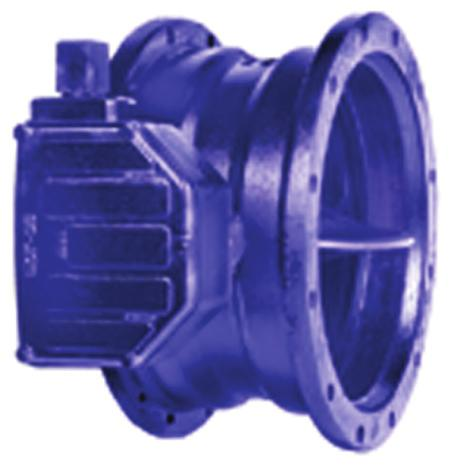This valve is excellet i high pressure applicatios. The valve body ad disc are made of ductile iro with the rubber seat i the body for abrasio resistace ad bubble-tight closure.
