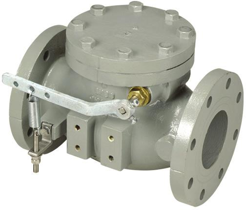 The 9001 Series feature elarged hige pis ad upgraded materials of costructio set forth for air or oil cushio valves.