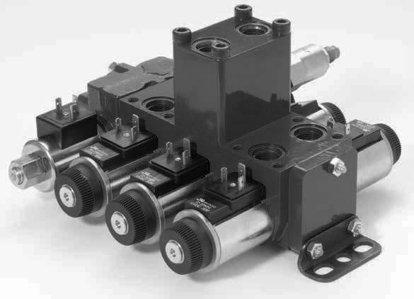 Eaton MDG valves, truly designed for mobile applications, offer the traditional benefits of a stackable mobile valve and provide further value as circuit options for mobile manifold systems.