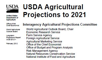 USDA s longer-term projections (as of Feb.