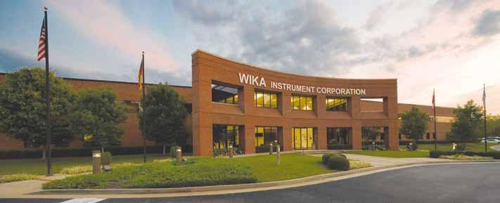 For over 60 years, WIKA Instrument Corporation has continuously advanced pressure gauge, transmitter and temperature measurement instrumentation.