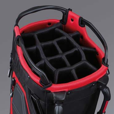 PLAYERS 14 STAND BAG VERSATILITY, ORGANISATION AND PERFORMANCE 1 Proprietary stand system with