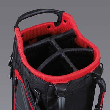 PLAYERS 5 STAND BAG OPTIMAL BLEND OF ORGANISATION AND LIGHTWEIGHT ENGINEERING FOR THE DEDICATED GOLFER 1