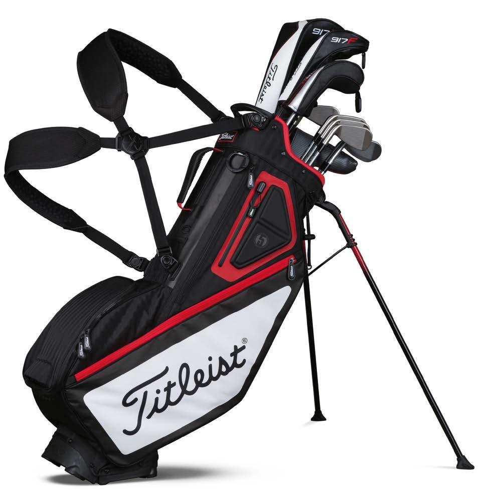 and stable width 2 Double-to-single convertible strap system with quick-release buckles 3 High-density foam