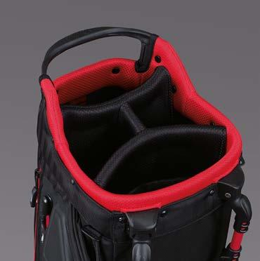 PLAYERS 4 STAND BAG DURABLE AND LIGHTWEIGHT ENGINEERING FOR THE DEDICATED GOLFER 1 Proprietary stand
