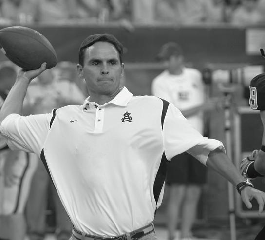 ASSISTANT COACHES Matt Lubick Assistant Head Coach/ Safeties/Recruiting Coordinator Matt Lubick begins his third season at Arizona State, coaching safeties and acting as head coach Dennis Erickson s