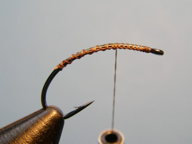 - Rusty Brown Hackle: Grizzly Dyed Dun - Dry Fly/Rooster Tying Instructions Step 1.