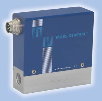 Model D-6210 MFM Mass Flow Meters (MFM) - analogue design - Principle of Operation MASS-STREAM mass flow meters are costefficient and reliable.