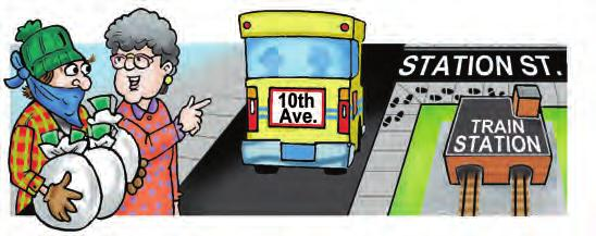 Take the Main Street bus and get off at First Avenue.