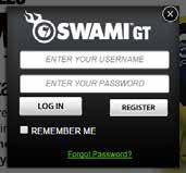 1. Plug Swami GT into PC via USB cable. Device must be powered on and on the Main Menu Screen. 2. Go to www.swamigps.