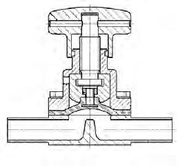 housings o blocked steam or seal water feeding at * double-acting axial face seals, * rod seals of lifting valves, * leakage space of double seat valves o branch valves of main pipes with large