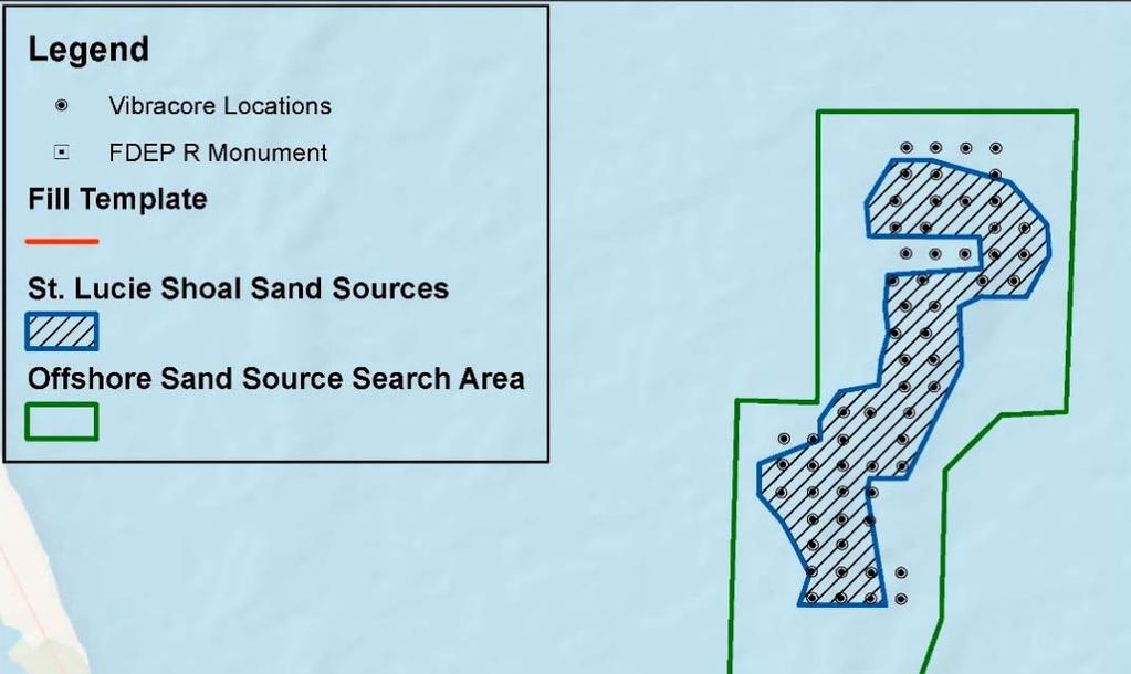 TENTATIVELY SELECTED PLAN (TSP) SAND SOURCE: ST.