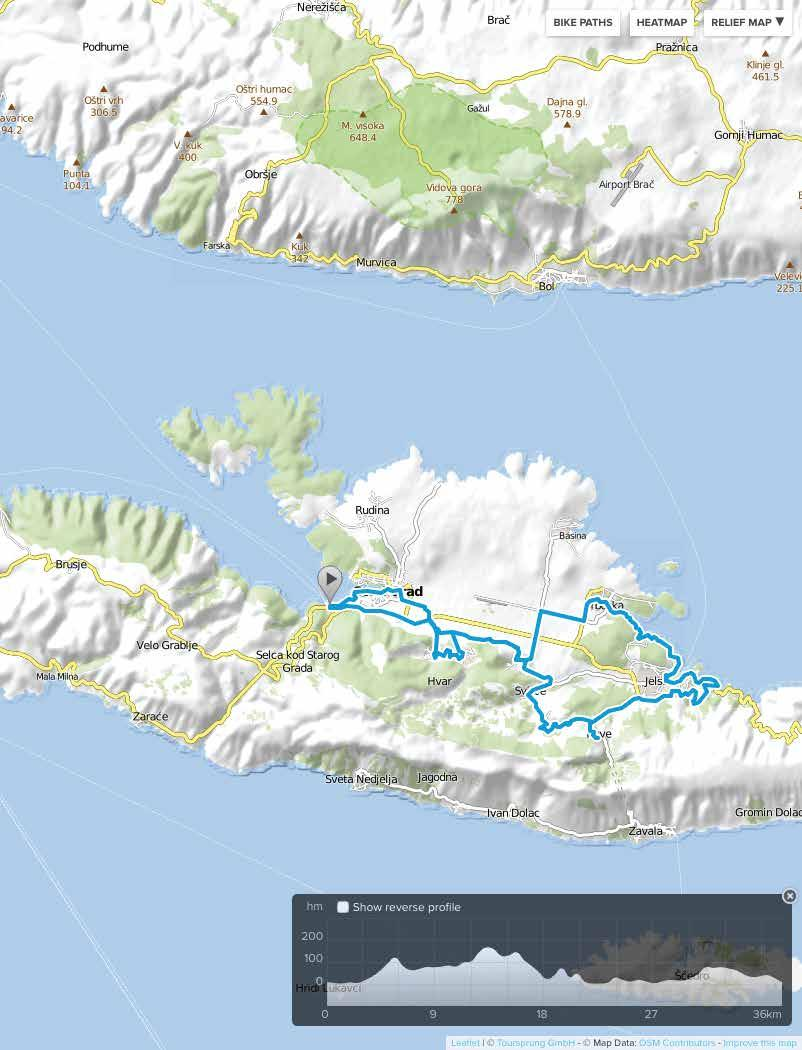 Rolling Hill 4,5 hrs easy 30-50 km 210 m Cycle along pristine paths in the heart of