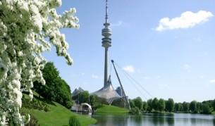 Visit the sport area where of the Olympic Games 1972. Go up to the Tower and look down at Munich from a height of 190 metres.