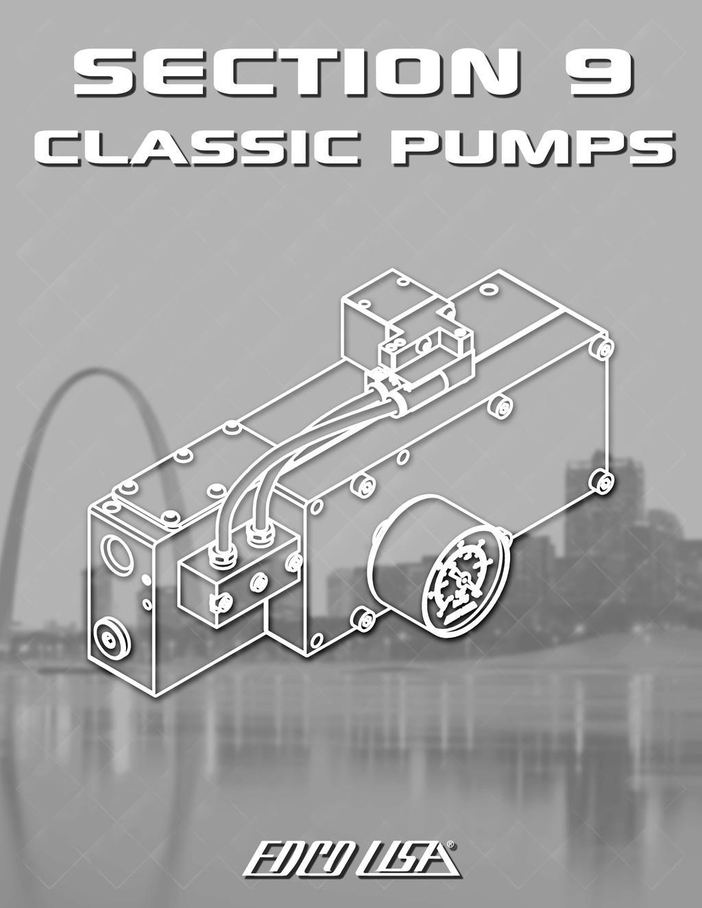 SECTION CLASSIC SERIES PUMPS
