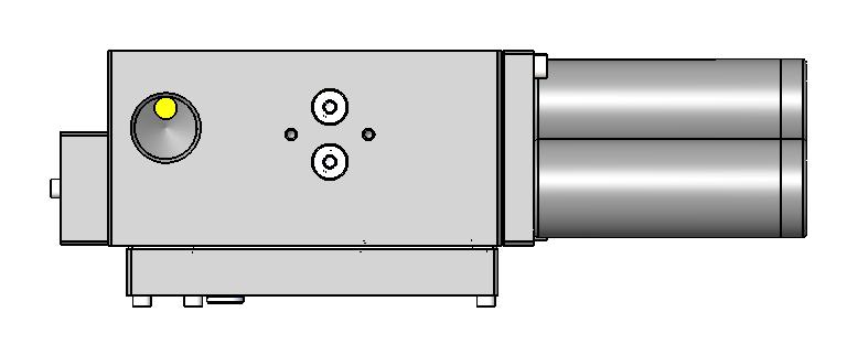 QUAD BASE PUMP Basic Pump assembly has an air supply bypass plate for control via on/off air supply to the pump base inlet port.