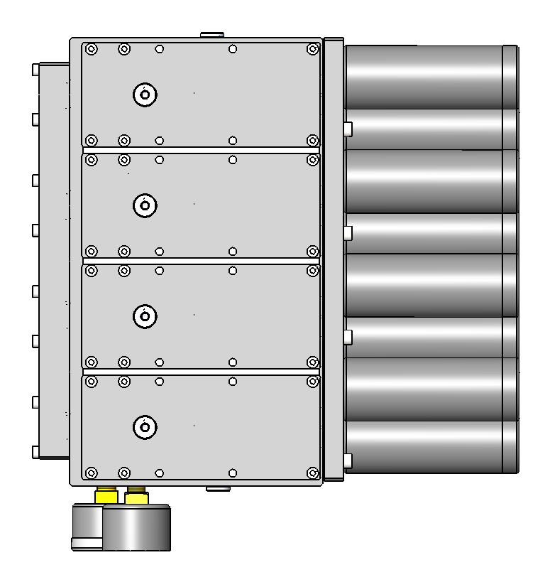 NR = Non-Return Valve is installed between the base and the primary ejector cavity and is used to prevent cross flow between two vacuum