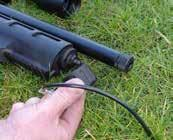 FILLING YOUR AIR RIFLE WITH COMPRESSED AIR 1 LOADING YOUR RIFLE SINGLE