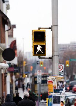 PEDESTRIAN LEVEL OF SERVICE OTTAWA COMPLETE STREETS Pedestrian Level of Service (PLOS)