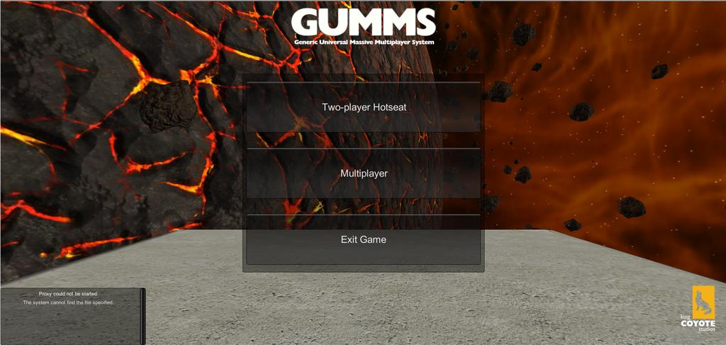 GUMMS 1 Introduction This software is an implementation and proof-of-concept alpha demo of the strategic combat simulation part of GUMMS (Generic Universal Massively Multiplayer System), where two