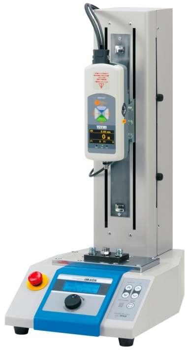 With a force gauge and attachments, compression/tensile/pealing tests are possible up to 1000N/2500N. It provides consistent testing speed and direction, offering highly accurate test results.