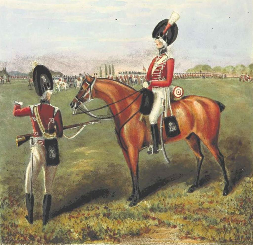 Angelo s (Elder) system was taught to the London and Westminster Light Horse Volunteers (that included light infantry support units).