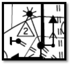 CHAPTER 6. PLAN DEVELOPMENT 6.2.5.9 Luminaire Labeling Number in a triangle the luminaries clockwise with respect to the controller cabinet with Number 1 being the first luminaire on a signal base.