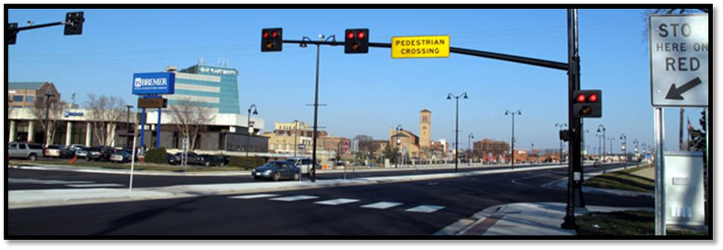 CHAPTER 1. PRELIMINARY SIGNAL DESIGN 1.6 PEDESTRIAN HYBRID BEACONS From the Minnesota Manual on Uniform Traffic Control Devices (Section 4F.