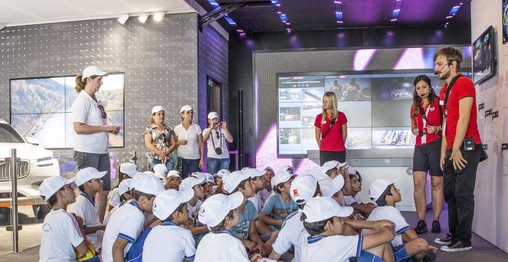 EDUCATION PROGRAMME FAMILY ACTIVITIES As part of the activities surrounding Cardiff Volvo Ocean Race 2018 plans will include a major educational programme on the health of the oceans to help ensure a