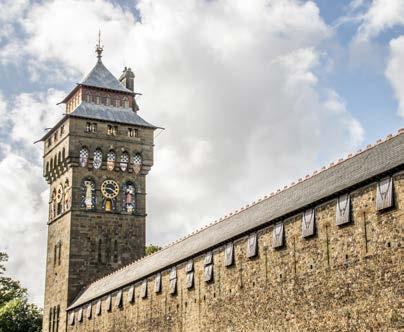 For a start, there s the imposing Cardiff Castle, which has stood proud above the city since the 11th century.