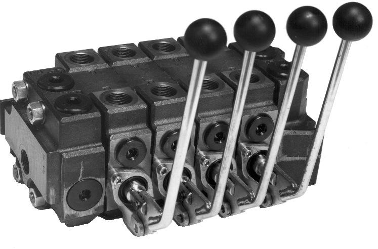 Directional Control Valve RS 280 3 RS 2802 3102RS28001 R S 280 is a modular parallel sect nal valve.